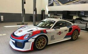 Espectacular el Porsche 911 GT2 RS con los colores del 935/78 'Moby Dick'