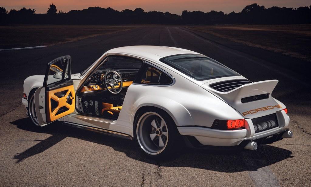Singer y Williams presentan su Porsche 911 en Goodwood 2018