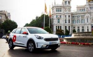 WiBLE, el nuevo car sharing de Kia y Repsol, ya está operando en Madrid