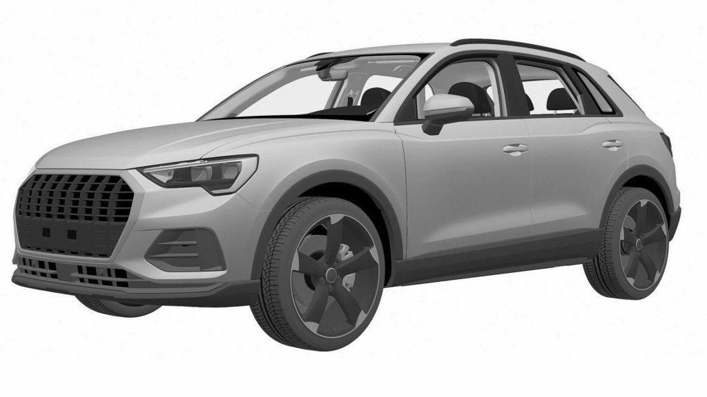 Descubierta nueva y misteriosa versión del Audi Q3 gracias a sus patentes