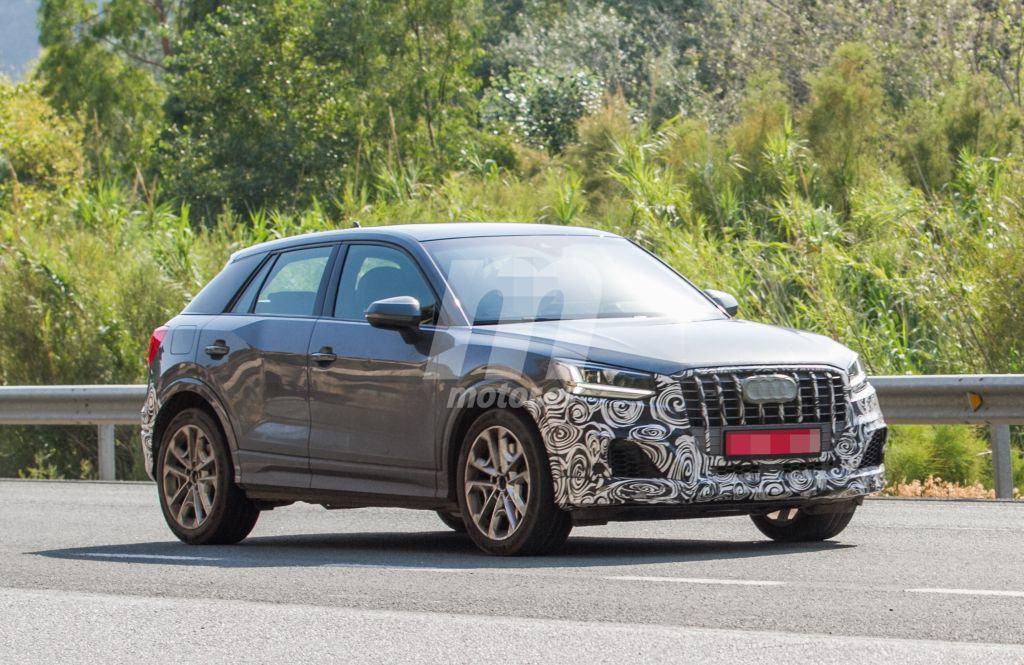 El Audi SQ2 con su configuración definitiva y menos camuflaje