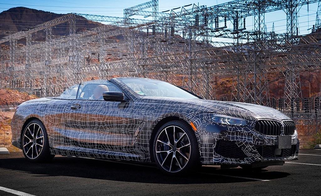 El duro desarrollo del BMW Serie 8 Cabrio 2019: temperaturas superiores a los 50ºC