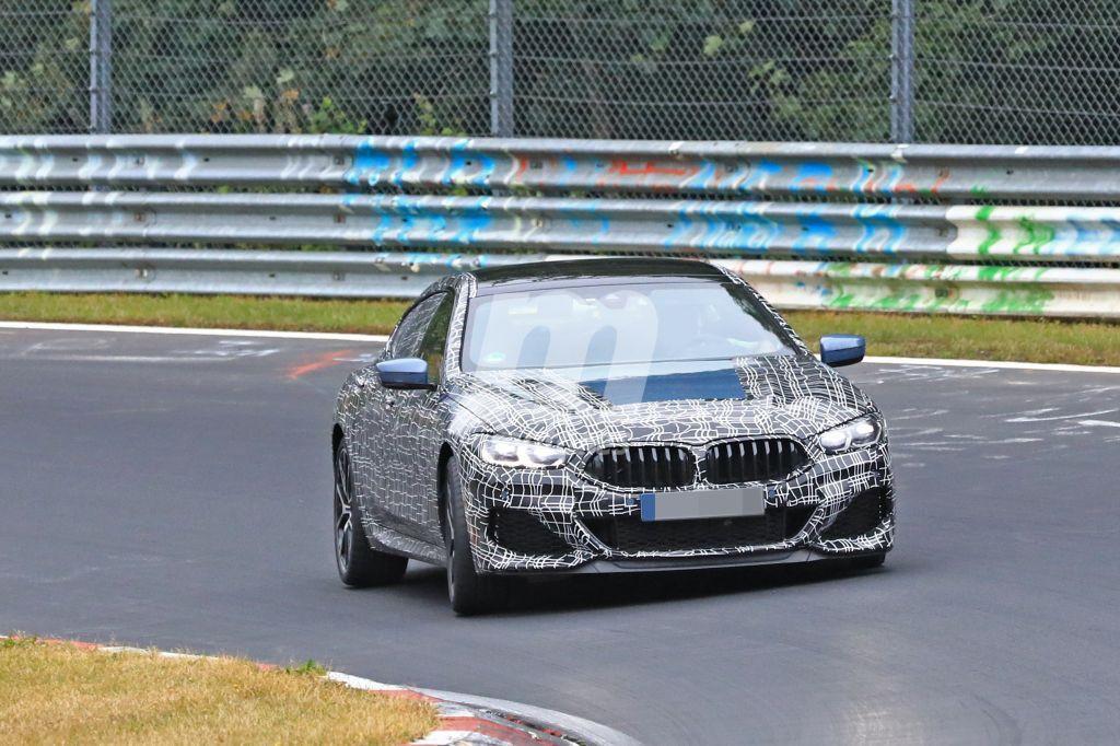 El nuevo BMW Serie 8 Gran Coupé se pone a punto en el circuito de Nürburgring