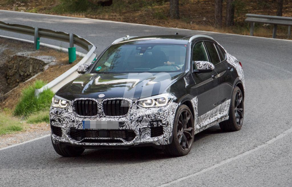 BMW X4 M: sus prototipos pierden camuflaje en los últimos tests