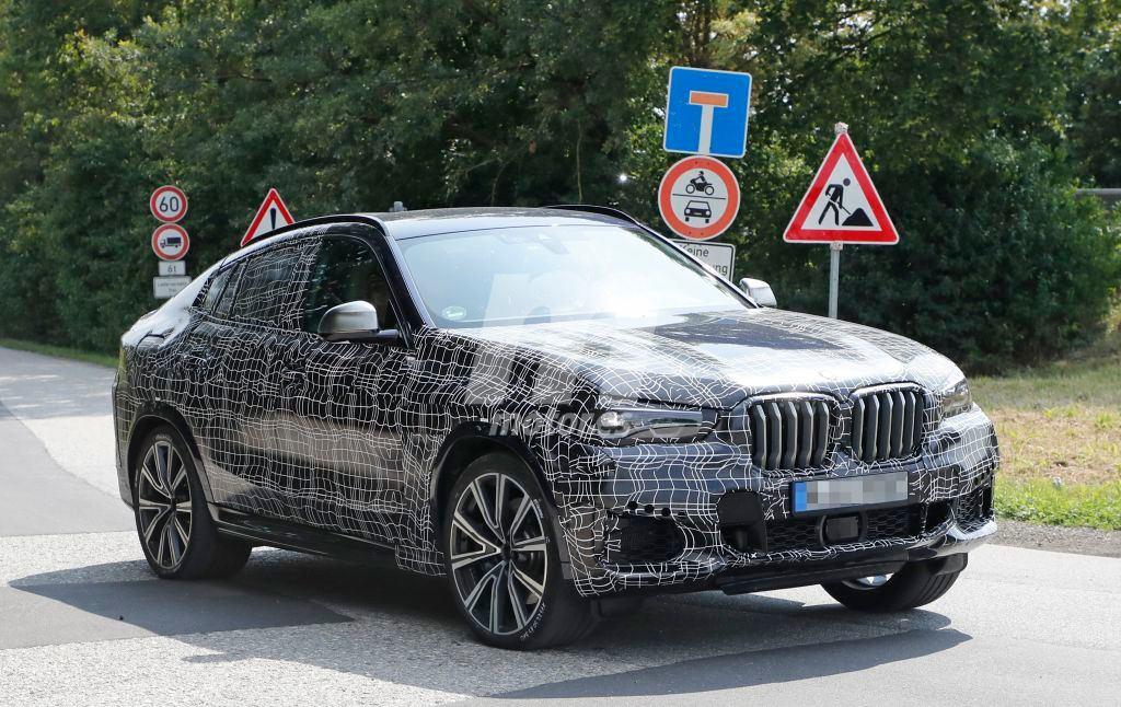 La nueva generación del BMW X6 ya rueda en Europa