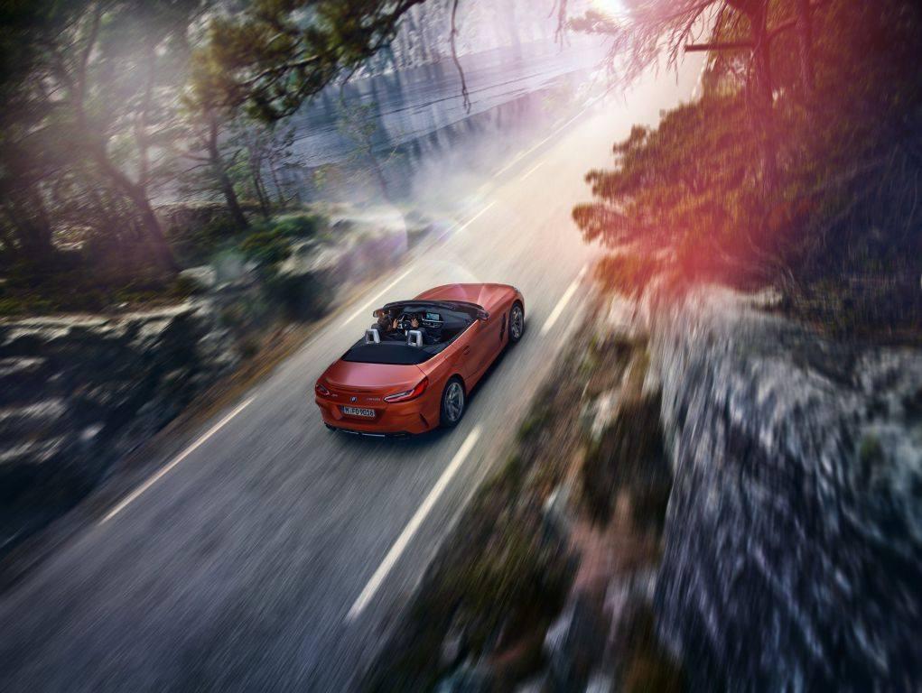 El nuevo BMW Z4 M40i y su habitáculo filtrados antes de Pebble Beach