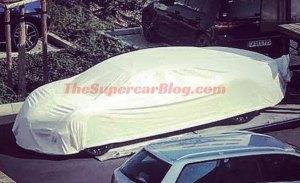 Descubierto un misterioso prototipo de 4 plazas del Bugatti Chiron