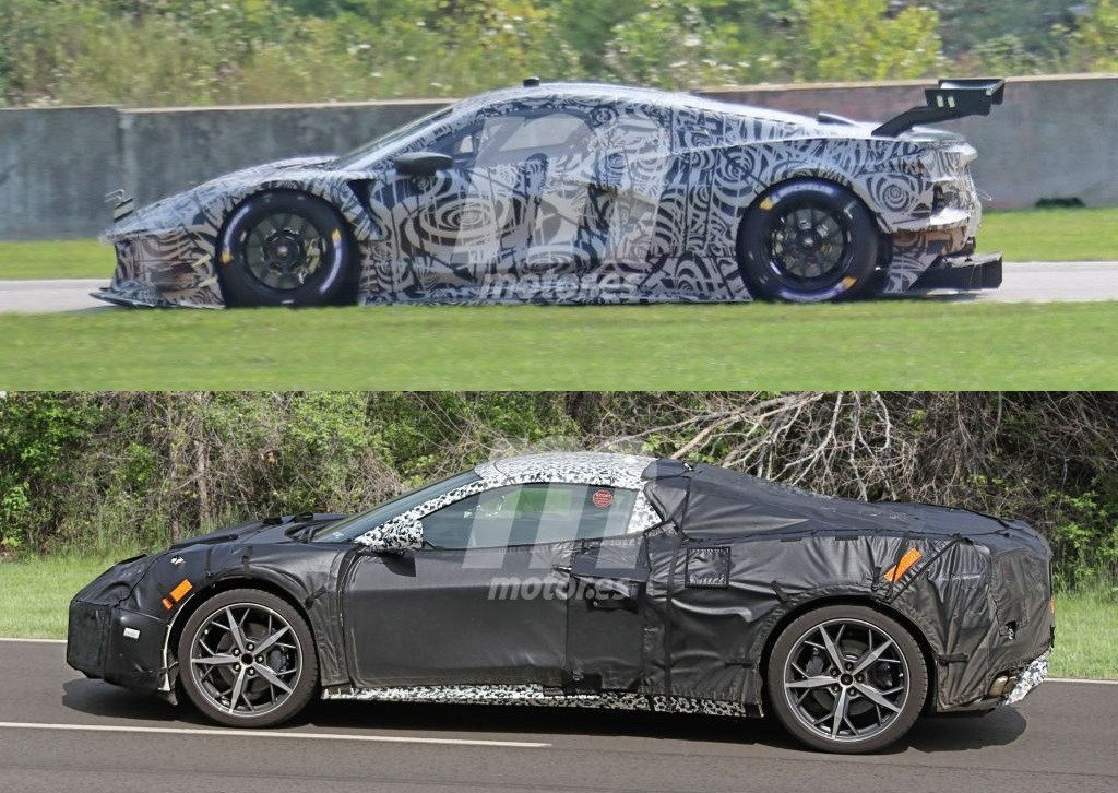 El Corvette C8 revelado gracias a la versión C8.R GTE de carreras
