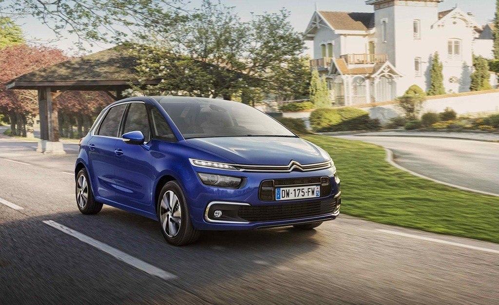 La gama del Citroën C4 SpaceTourer estrena el cambio automático EAT8