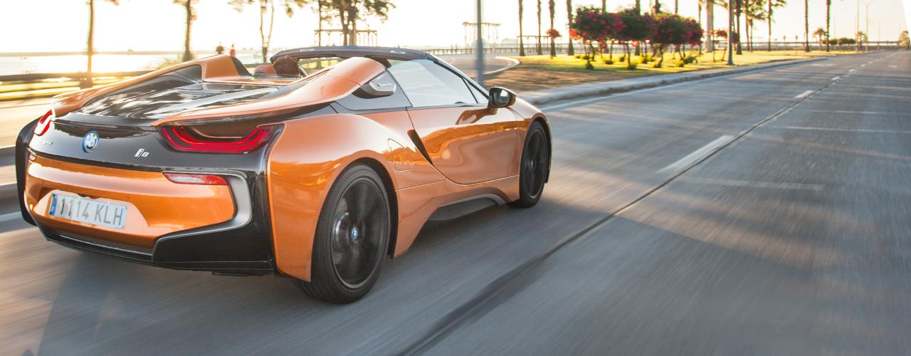 Prueba BMW i8 Roadster, eficiencia híbrida sin techo