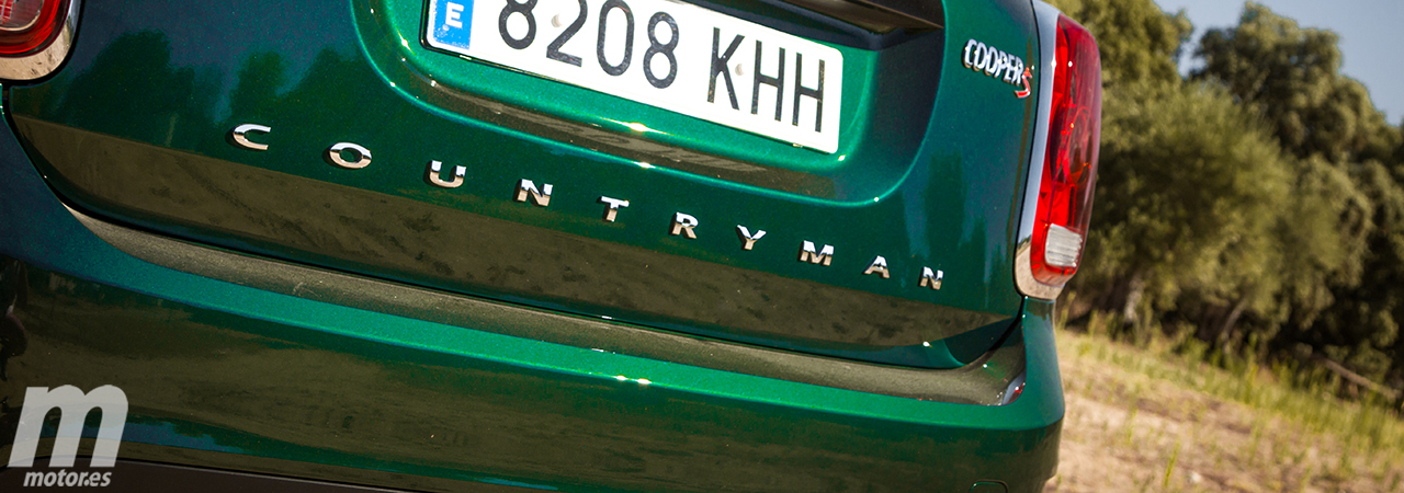 Prueba MINI Countryman Cooper S 2018; bueno, bonito, pero caro