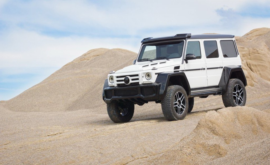 FAB Design se atreve a modificar el Mercedes G 500 4×4², una bestia off-road