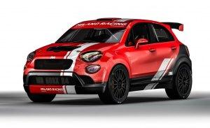 El Fiat 500X de rallies es real con el Kit FIA R4 de Oreca