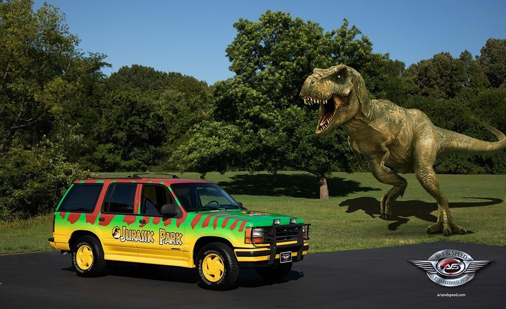 A la venta una réplica del Ford Explorer de Jurassic Park, ¡solo para cinéfilos!