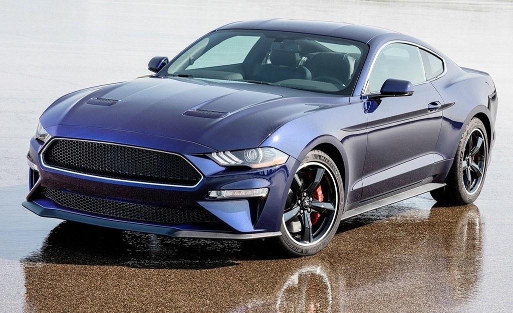 El nuevo Ford Mustang Bullit se viste con un traje de color Kona Blue