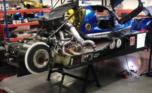 Ginetta presume de motor AER en el G60-LT-P1 de Manor