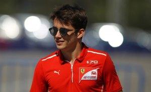 Leclerc completó su primer test con el Ferrari de 2018 en Monza