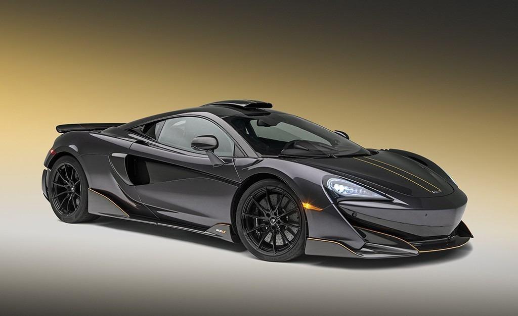 El nuevo McLaren 600LT se viste de gala para Pebble Beach
