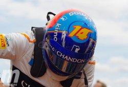 """Alonso, arrollado por Hülkenberg en la salida: """"Es difícil entenderlo"""""""