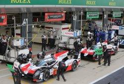 Positivo inicio de los pilotos de Toyota en Silverstone