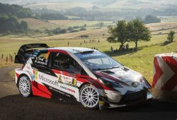 Los tres mosqueteros del WRC, al mando en Alemania