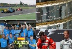 Los diez momentos clave en la carrera de Alonso: una trayectoria inigualable