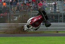 El flap del DRS, culpable del escalofriante accidente de Ericsson