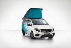 Mercedes Concept Marco Polo: el adelanto de la primera caravana con pila de hidrógeno