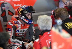 Los pilotos de Ducati completan un test privado en Misano