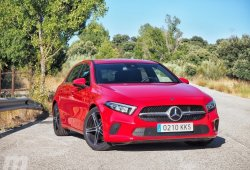 Prueba Mercedes Clase A 180d, inteligencia natural (con vídeo)