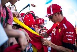 """Räikkönen: """"Aún tenemos que mejorar las sensaciones del coche y los neumáticos"""""""