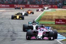 """Sergio Pérez: """"Hay dos categorías en la Fórmula 1"""""""