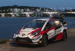 Toyota estrena nueva base para los Yaris WRC en Estonia