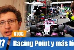 [Vídeo] Racing Point, el halo y más líos