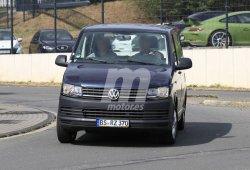 Volkswagen inicia las pruebas de la nueva T7 en versión híbrida enchufable GTE