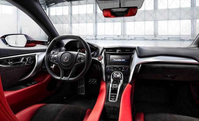 Acura NSX 2019 - interior
