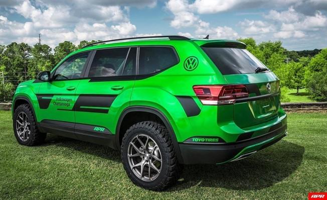 Volkswagen Atlas preparado por APR