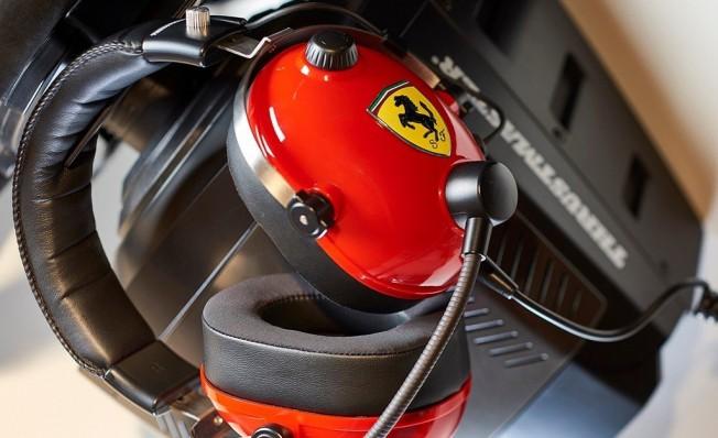 Auriculares Thrustmaster T.Racing Scuderia Ferrari Edition
