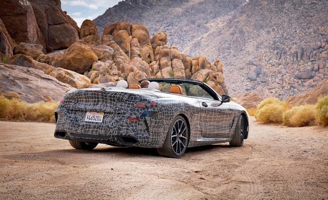 BMW Serie 8 Cabrio 2019 - posterior