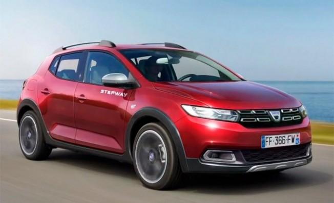 Dacia Sandero Stepway 2020 - recreación