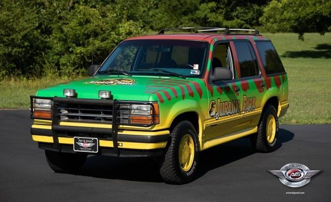 Ford Explorer de Jurassic Park