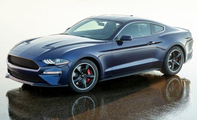 Ford Mustang Bullit Kona Blue