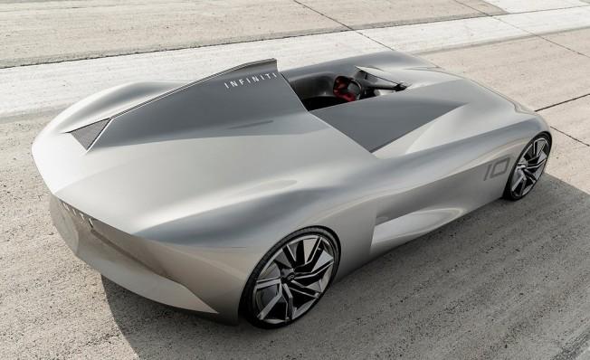 Infiniti Prototype 10 Concept - posterior
