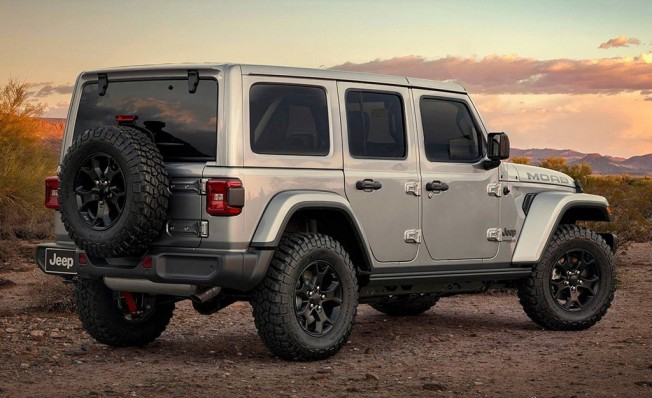 Jeep Wrangler Moab Edition - posterior