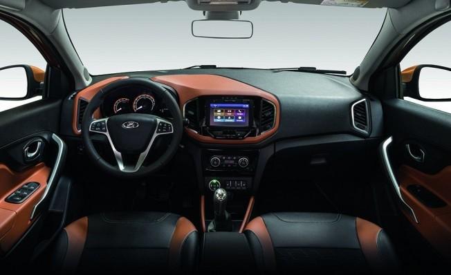 Lada XRAY Cross - interior