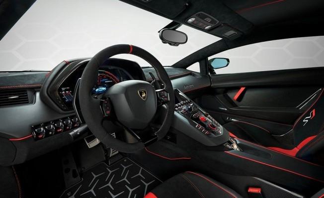 Lamborghini Aventador SVJ - interior
