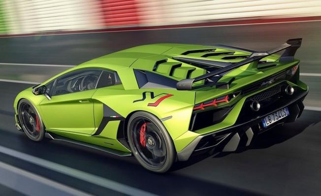 Lamborghini Aventador SVJ - posterior