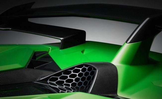 Lamborghini Aventador SVJ - teaser