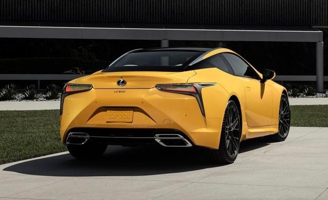 Lexus LC 500 Inspiration Concept - posterior
