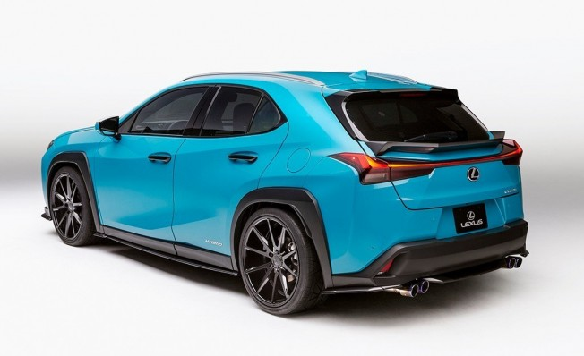 Lexus UX 250h en Pebble Beach 2018